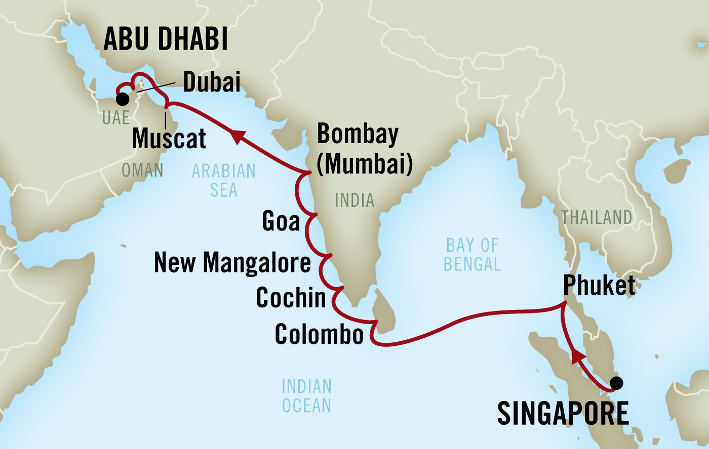 Times Journeys #9 | India & Sri Lanka Educational Cruise
